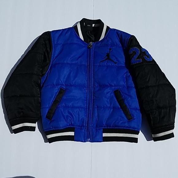b16b7cf81423 Jordan Other - Boys Air Jordan Jumpman Letterman 23 puffer jacket